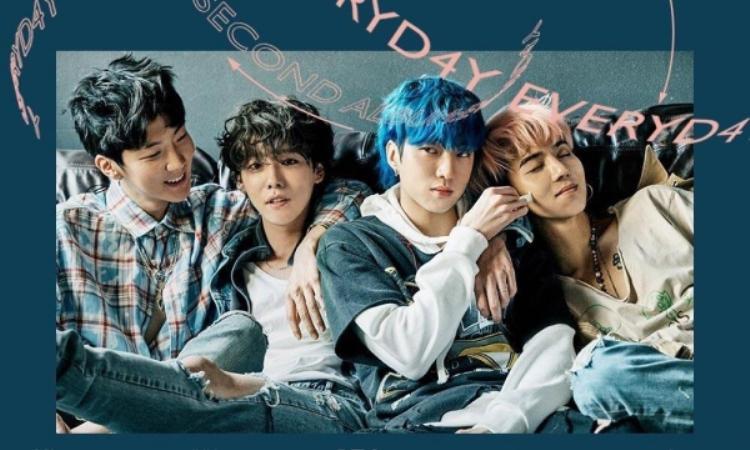 """Everyday""""quét sạch"""" mọi bảng xếp hạng lớn nhỏ Kpop khi vừa phát hành, xuất sắc giành chứng nhận all-kill đầu tiên sau 4 năm hoạt động của Winner."""