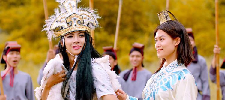 Lâu rồi không giả gái, Hoài Lâm vẫn xinh đẹp khi làm Mị Châu cùng Trọng Thủy Ngọc Thanh Tâm