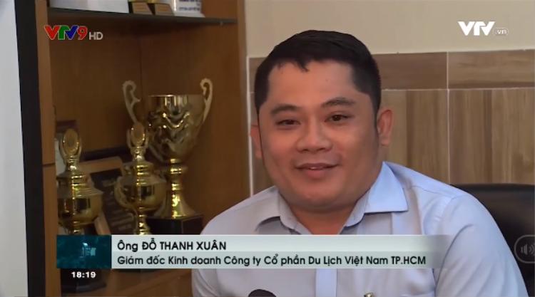 Anh Đỗ Thanh Xuân - GĐ Kinh doanh Công ty Cổ phần Du lịch Việt Nam TP.HCM.