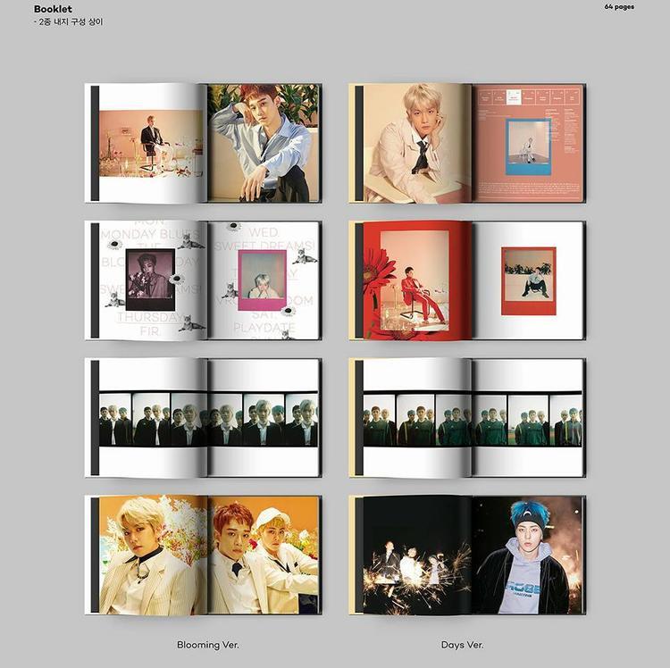 Booklet của album cũng đã được tiết lộ.