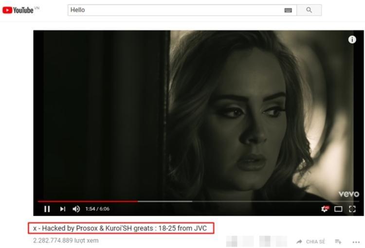 Hello của Adele cũng rơi vào tình trạng nguy hiểm cận kề.