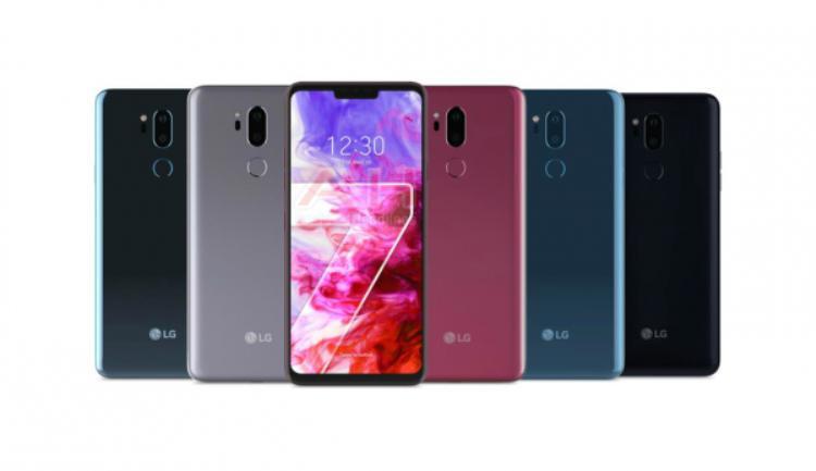 LG G7 ThinQ có 5 phiên bản màu máy khác nhau.