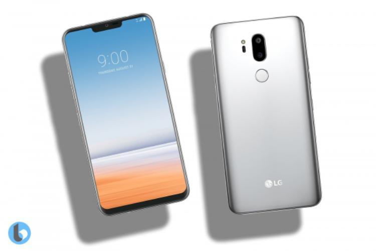 Ảnh dựng chiếc điện thoại LG chuẩn bị ra mắt.