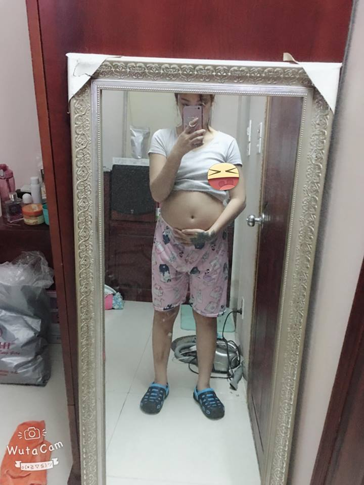 Cháu mỡ của em mới được 5 tháng thôi. Nếu ăn vào nữa thì là 7 tháng - (Lê Hà Linh).