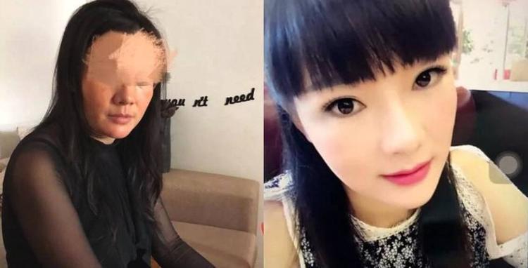 Người bạn gái trẻ trung, xinh đẹp được phù phép qua lớp hóa trang. Ảnh: Shanghaiist