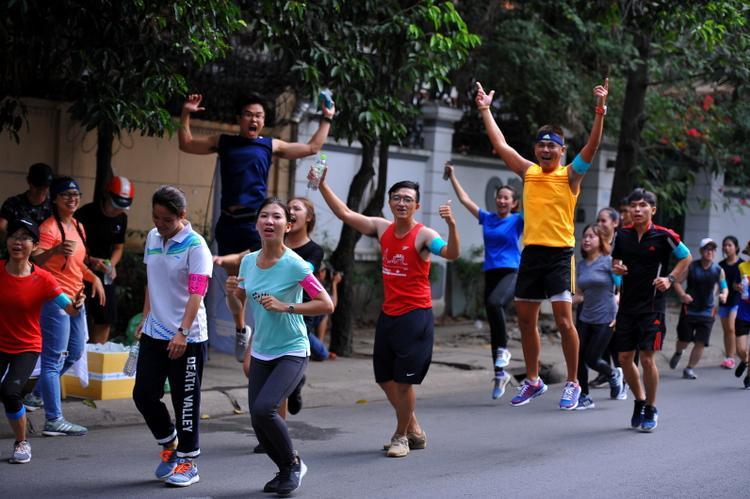 Đây là một trong những hoạt động ý nghĩa, khuyến khích tinh thần thể thao của người dân.