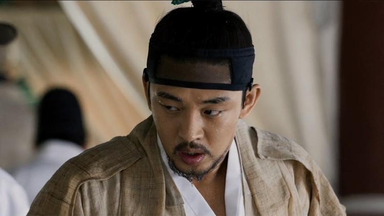 Yoo Ah In đảm nhận vaiThái tử Sado(Tư Điệu Thế tử)người thừa kế ngai vàng nhưng lại không có năng lực cáng đáng việc triều chính.