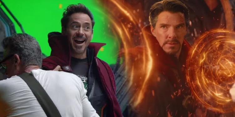 Chờ đã, tại sao Iron Man lại mặc áo choàng bay của Doctor Strange thế này?