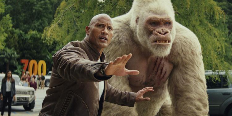 Rampage: Trận chiến sống còn của con người với 3 loài siêu thú khổng lồ