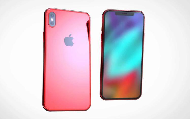 iPhone X phiên bản PRODUCT(RED) rất chân thực trong concept của Concept Creator.