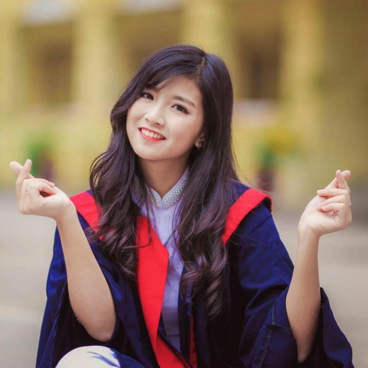 Nữ sinh ĐH Công nghiệp từng là một học sinh năng động, tích cực của THPT Việt Đức.