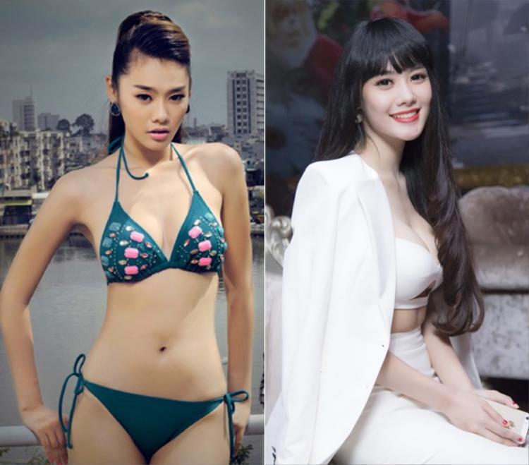 Linh Chi thừa nhận nâng ngực để phục vụ cho công việc.