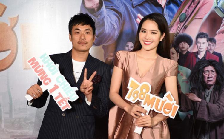 """Nam Em được cho là """"thả thính"""" Kiều Minh Tuấn khi tham gia đóng phim chung."""