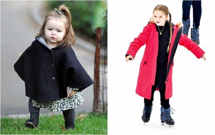 Harper Beckham - cái tên chưa bao giờ hết hot đã bước sang tuổi lên 7 và vô cùng đáng yêu, hiếu động. Cô bé thường được báo giới khen ngợi về gout thời trang chất lừ không hề thua kém một fashionista nào.