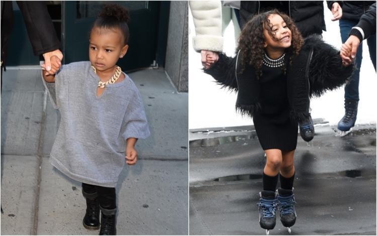 """Công chúa nhà Kim Kardashian và Kanye West luôn giữ vững danh hiệu """"nhóc tì sành điệu"""" của Hollywood từ bé đến hiện tại.North West được nhiều người ngưỡng mộ không chỉ bởi vẻ ngoài cá tính mà còn cả cuộc sống nhung lụa đầy mơ ước."""