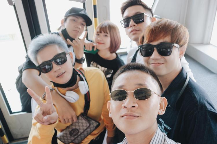 Thanh Duy, Đại Nhân, Khởi My, Kelvin Khánh cũng đã có mặt tại Thái Lan.