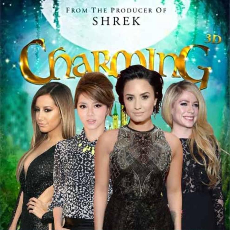 Ashley Tisdale, GEM, Demi Lovato, Avril Lavigne tham gia lồng tiếng chính cho các nhân vật trong phim