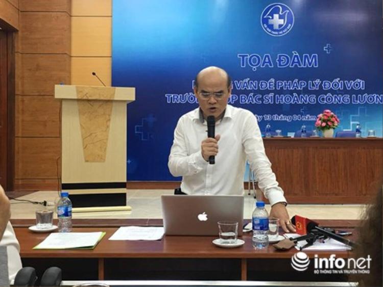 TS Quang - Ảnh: Infonet.