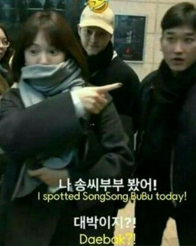 Trước đó, một số hình ảnh của Song Joong Ki cho thấy anh tăng cân nhẹ sau khi kết hôn.