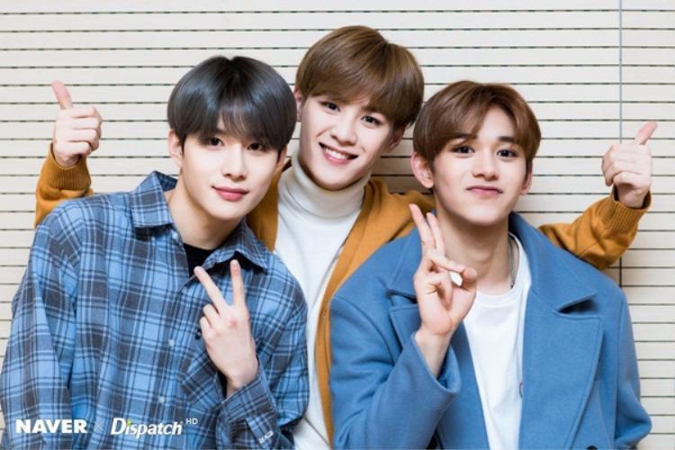 3 thành viên vừa được bổ sung vào đội hình Jungwoo, Kun và Lucas.