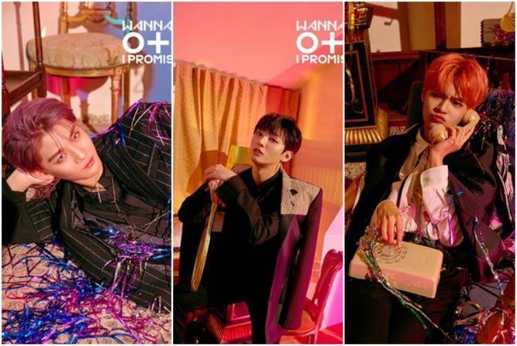 Hạng 12, 13, 14 gọi tên các thành viên Wanna One: Jinyoung, Jisung và Daehwi.