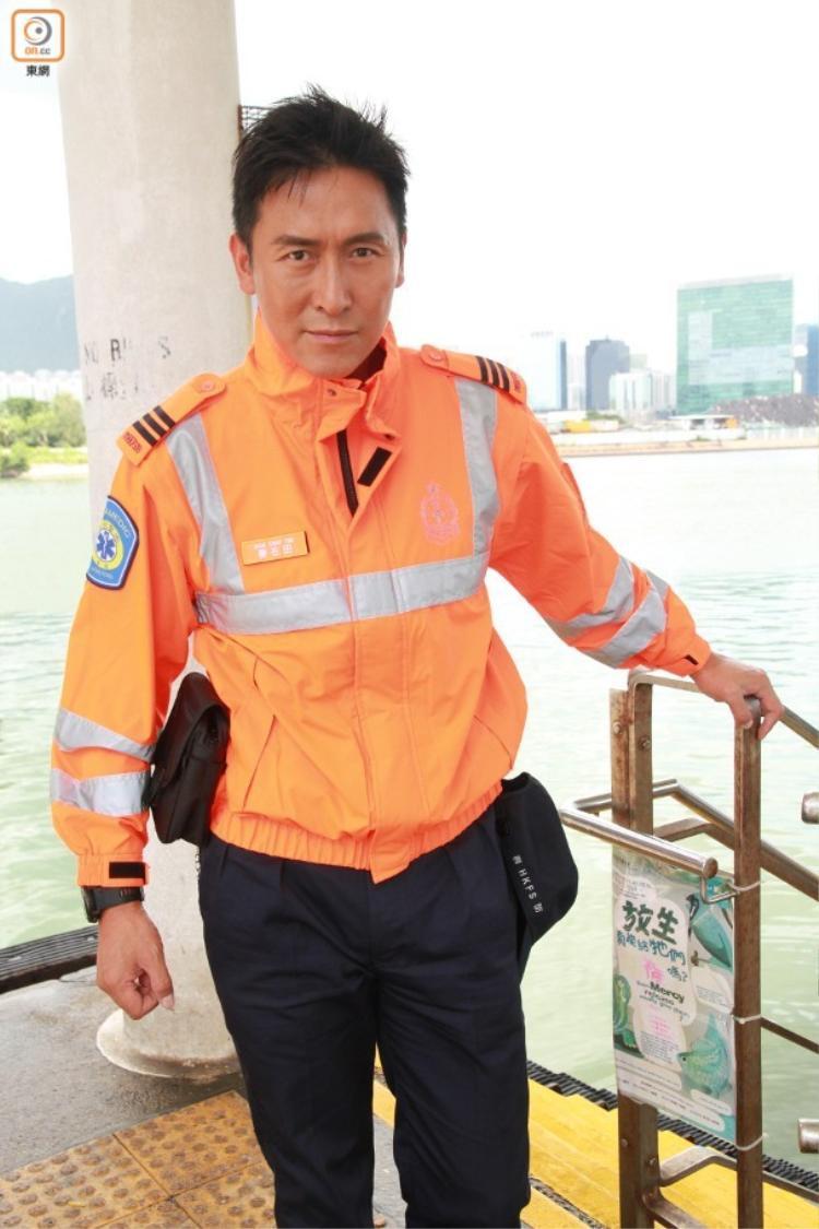 Sếp Triển ngày nào bây giờ đã thành nhân viên cứu hộ