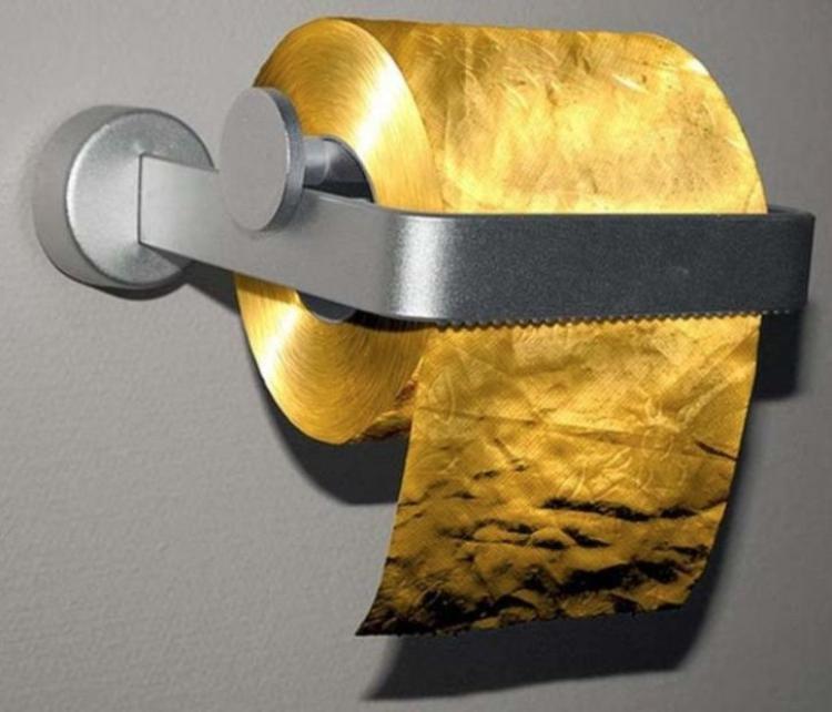 Vì làm bằng vàng lá nên giấy này rất an toàn để sử dụng.