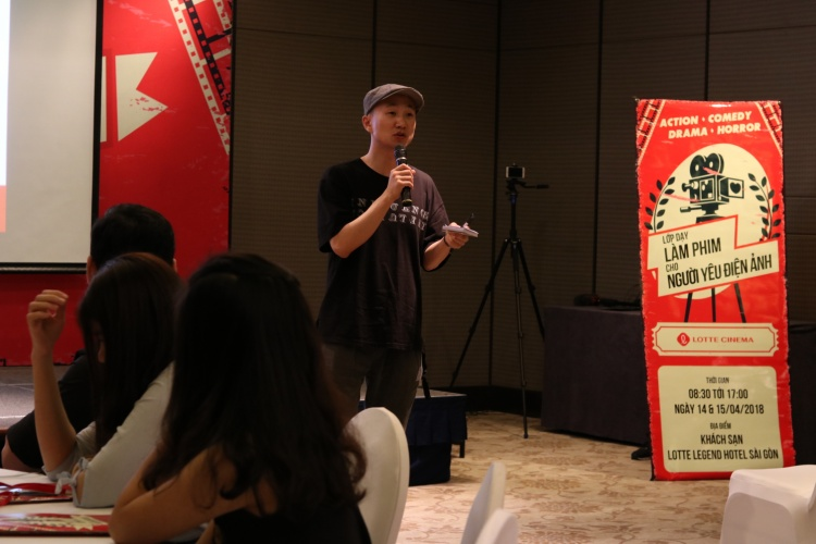 Chương trình có sự tham gia của 60 học viên, dưới sự hướng dẫn của đạo diễn Kim Tae Yeoup (đến từ Hàn Quốc) diễn ra vô cùng sôi nổi và hào hứng.