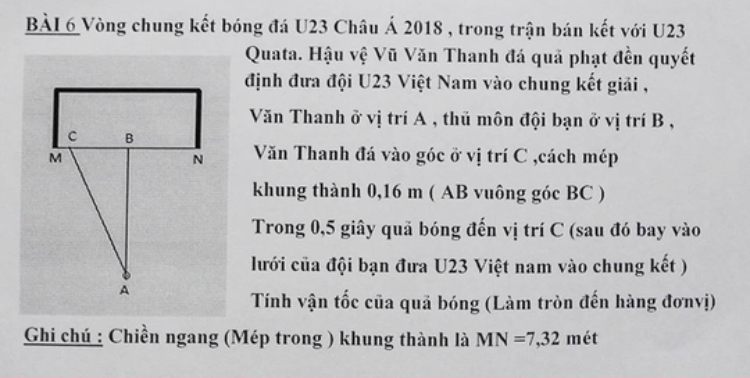 Cú đá của Văn Thanh cùng với hình tượng ăn mừng ngạo nghễ khiến người dân Việt Nam tự hào mỗi khi nhớ đến và thầy dạy Toán cũng vậy!