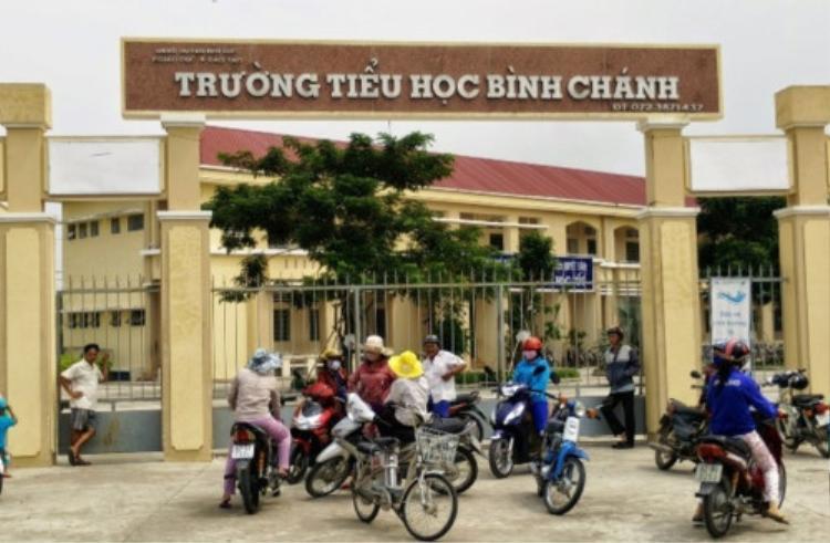 Trường TH Bình Chánh (Vietnamnet.vn)