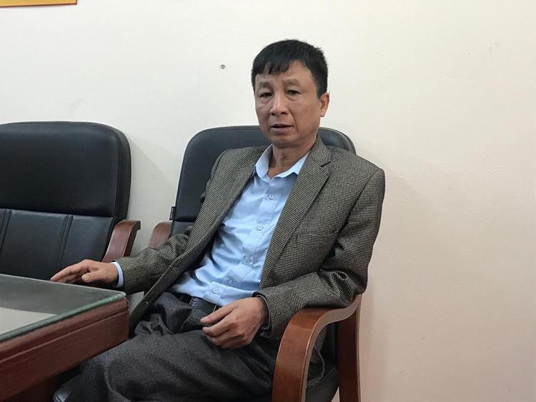 Ông Nguyễn Chí Lương, Chủ tịch xã An Thượng thông tin sự việc.