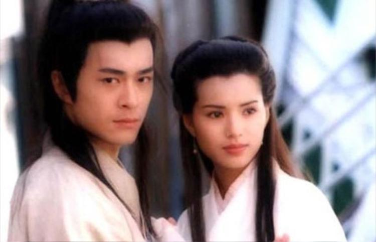 """Cô Long và Dương Quá trong """"Thần điêu đại hiệp"""" năm 1995"""