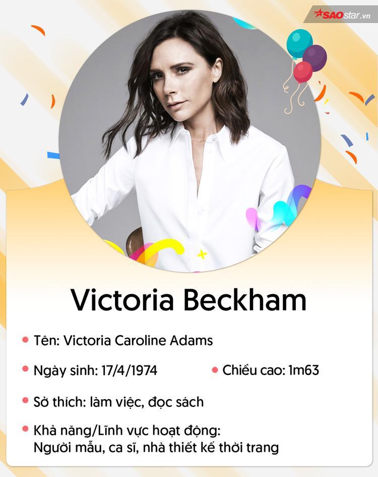 Victoria Beckham: Từ bé gái béo phì, đi bán nước hoa đến hình mẫu cho phụ nữ toàn cầu