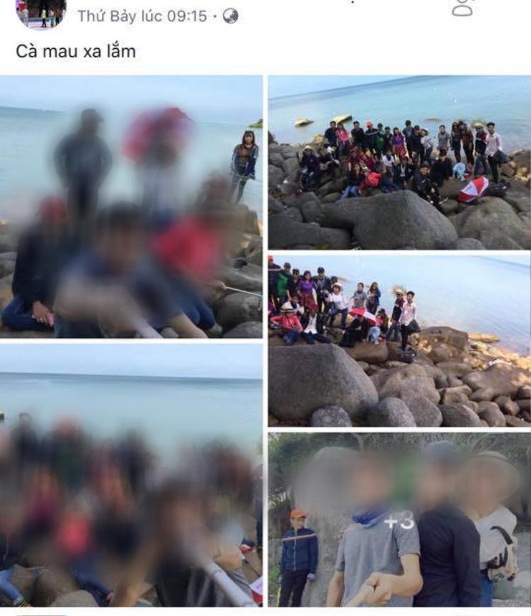 Nhóm phượt đông đảo với số lượng 28 thành viên.