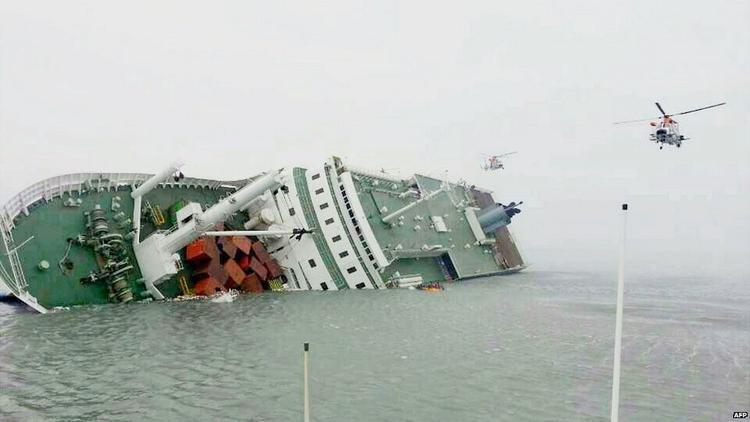 Tàu Sewol của Hàn Quốc.