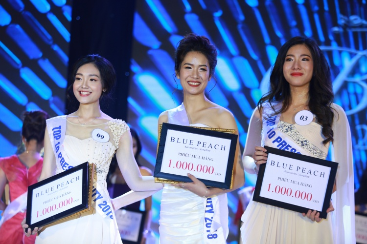 Top 3 của Press Beauty 2018.