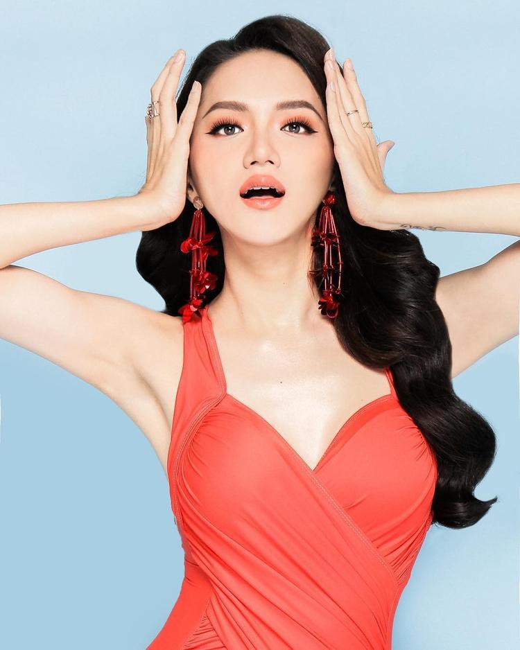 """Được biết, hiện tại Giang đang tham gia một số chương trình thực tế với gu thời trang đúng chuẩn """"Hàng Việt Nam chất lượng cao""""."""