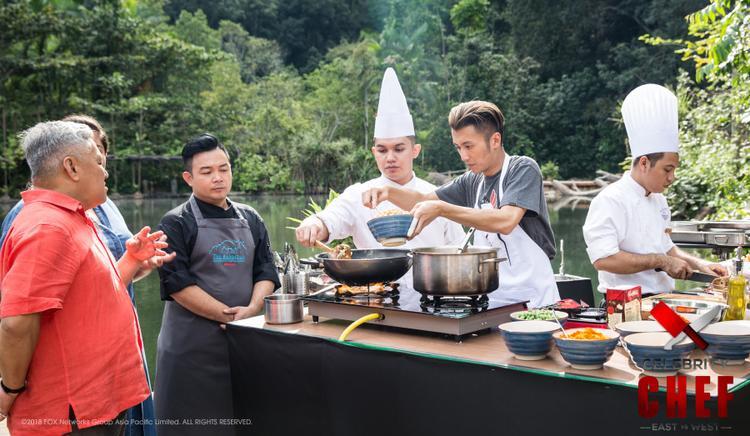 Chỉ nhờ tài trang trí món ăn, Tạ Đình Phong lại chiến thắng sát nút trước đầu bếp danh tiếng