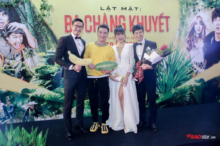 Nam ca sĩ Đàm Vĩnh Hưng tới ủng hộ phim mới của Lý Hải.