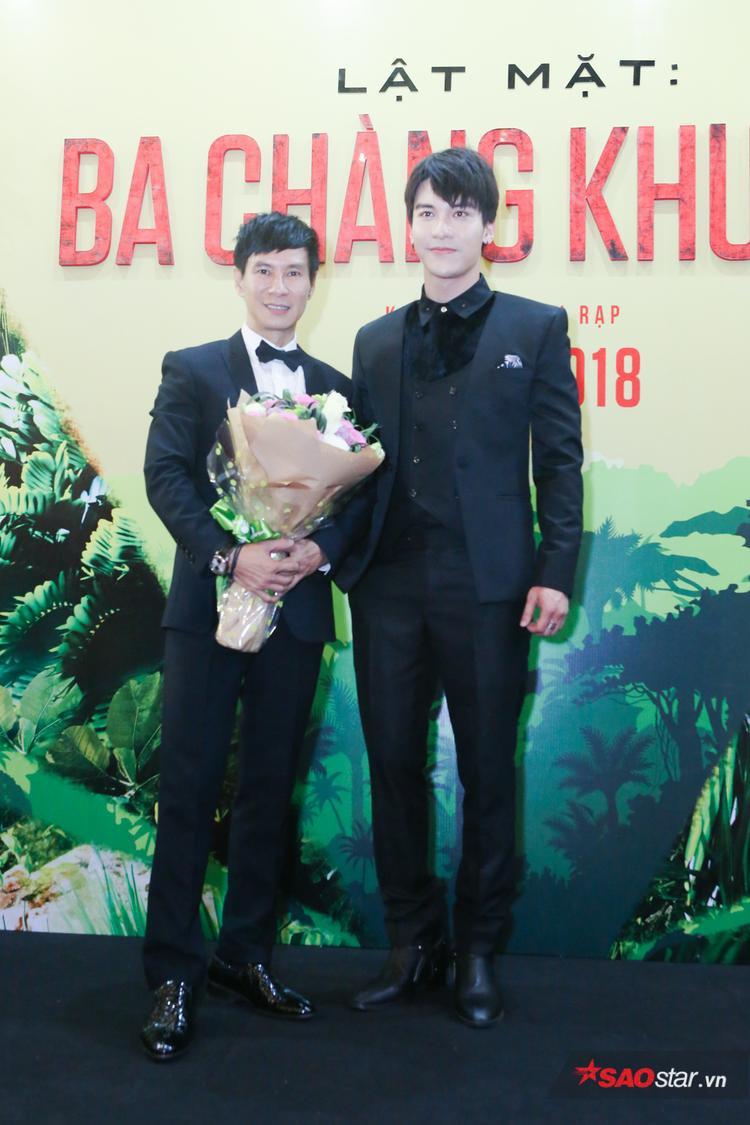 Lý Hải và nam diễn viên điển trai Nguyễn Đăng Dũng.