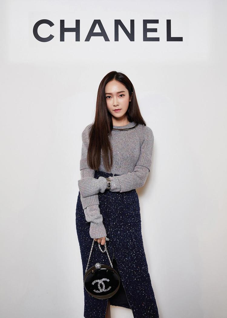 Cô nàng là một trong những khách mời danh dự ở event Chanel Code Coco in Seoul tháng 11/2017.