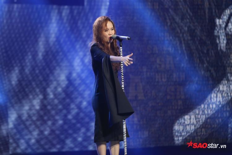 Sa Huỳnh trút hết nỗi lòng trên sân khấu với Hoạn thư.