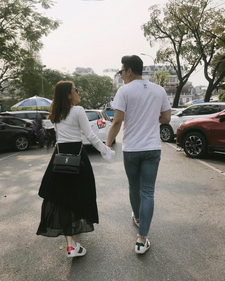 Ngọc Thảo đăng ảnh bạn trai trên instagram.