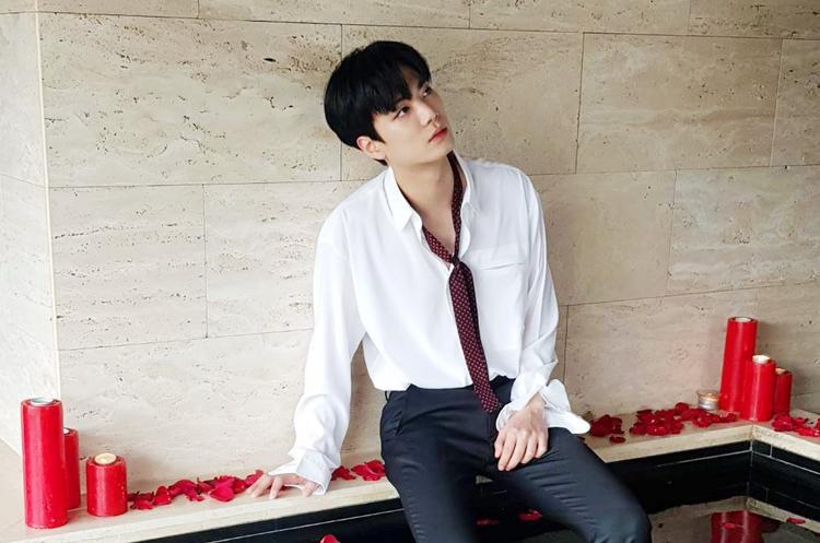JR là thực tập sinh nam đầu tiên của Pledis Entertainment.