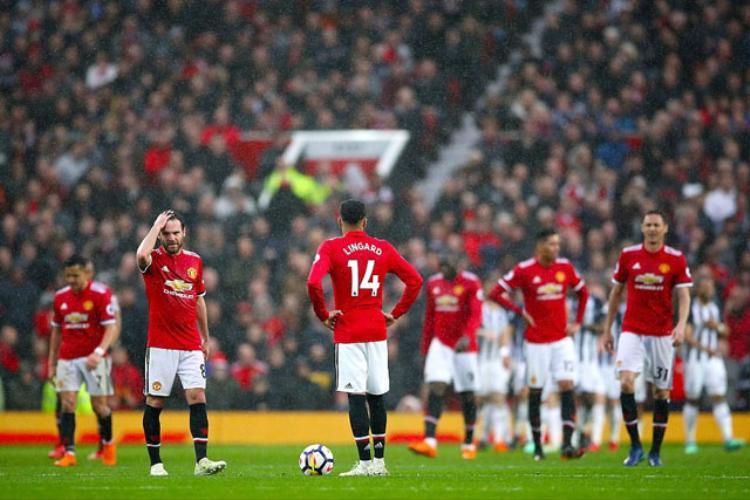 Man United thua muối mặt trước West Brom hồi cuối tuần.