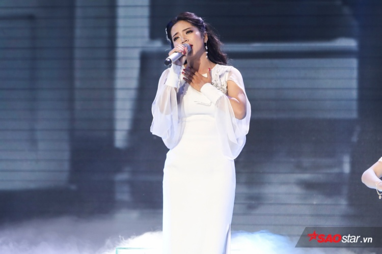 Giọng hát chính là vũ khí sắc bén giúp Hoàng Hải vượt qua lần lượt các thử thách trong từng vòng thi.