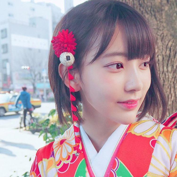 Gương mặt xinh đẹp, thần thái cuốn hút khiến Sakura dễ dàng có được vị trí center.