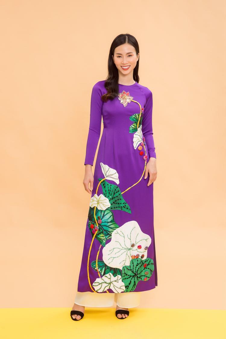 Các thiết kế của Thủy Nguyễn mang đến những nét tinh tế, đậm dấu ấn nghệ thuật về hình ảnh thiếu nữ Việt