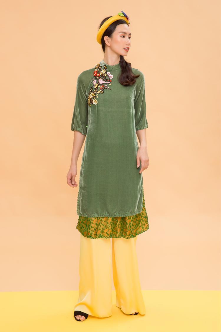 Bộ sưu tập áo dài nhìn là mê mặc là thích của Thủy Nguyễn tiếp tục được trình làng