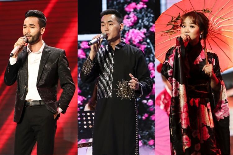Trong khi đó, Kelvin Chính, Đoàn Tuấn Anh và Yuuki Ánh Bùi tìm kiếm cơ hội mới ở bảng bình chọn Chiếc vé may mắn.
